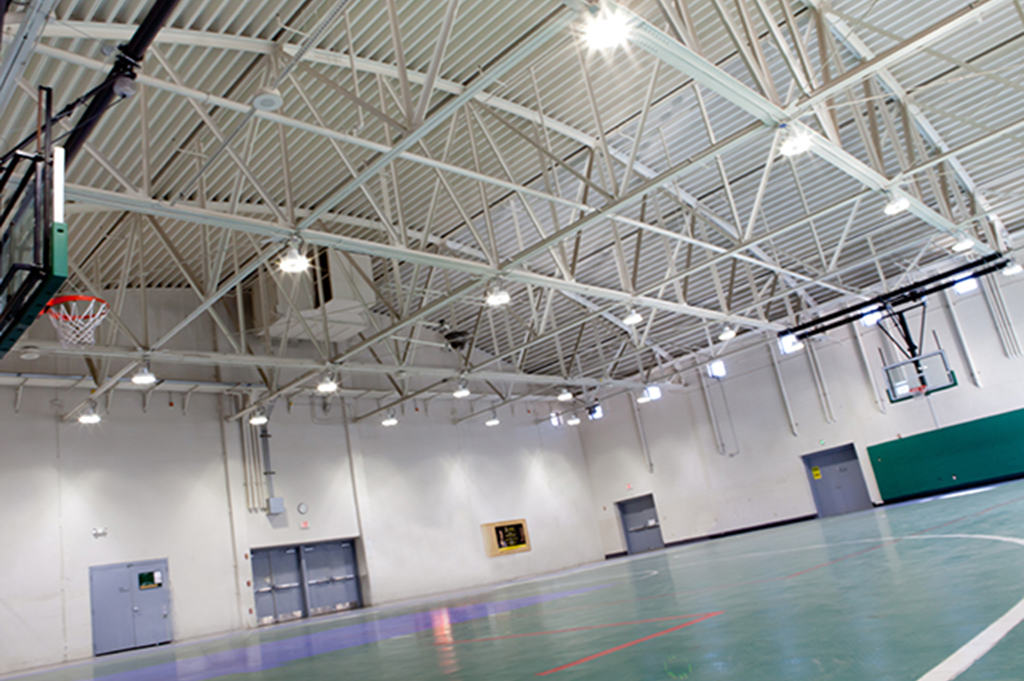 Singapore - Indoor Stadium Texas National Guard - Drill and Exercise Hall ... & Sports Lighting - Application Areas - ActiveLED azcodes.com