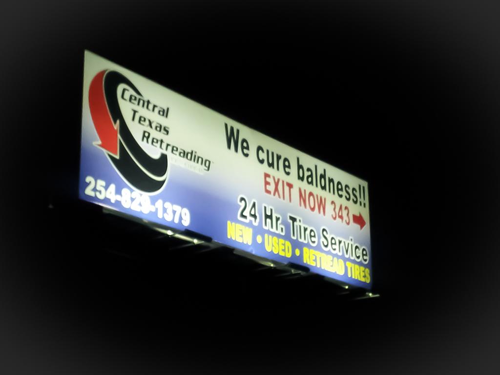 Using Ringdale Solar Controller - Solar ONLY 48ft x 12ft Billboard lit by 4 x 75 & ActiveLED Billboard Lights - Monument Lighting - Sign Lighting
