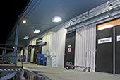 TCEQ, Austin, Texas - Loading Bay using ActiveLED CPY Series Canopy Light