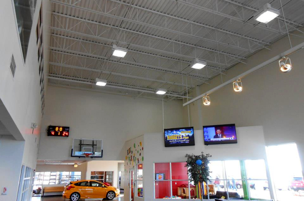 Car Dealership And Car Lot Lighting Application Areas