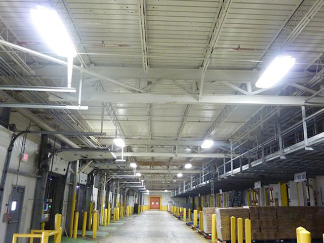 Tropicana - Cold Storage Facility - using HBS 100 Watt Linear High Bay Fixture